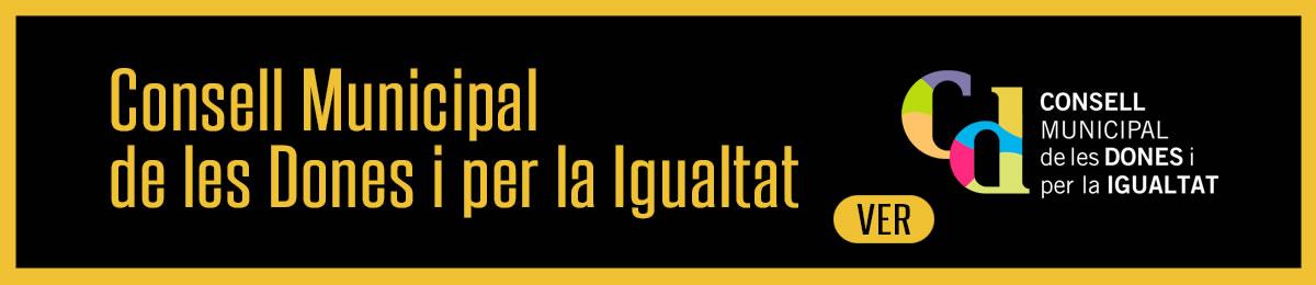 Consell Municipal de les Dones i per la Igualtat