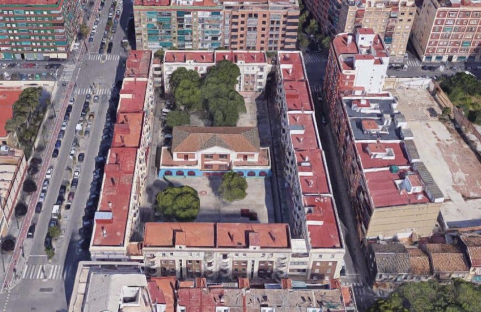 Centro Cívico plaza Francisco Javier Goerlich Lleó