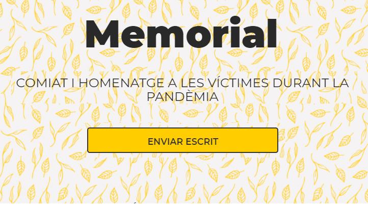 Comiat i homenatge a les víctimes de la pandèmia