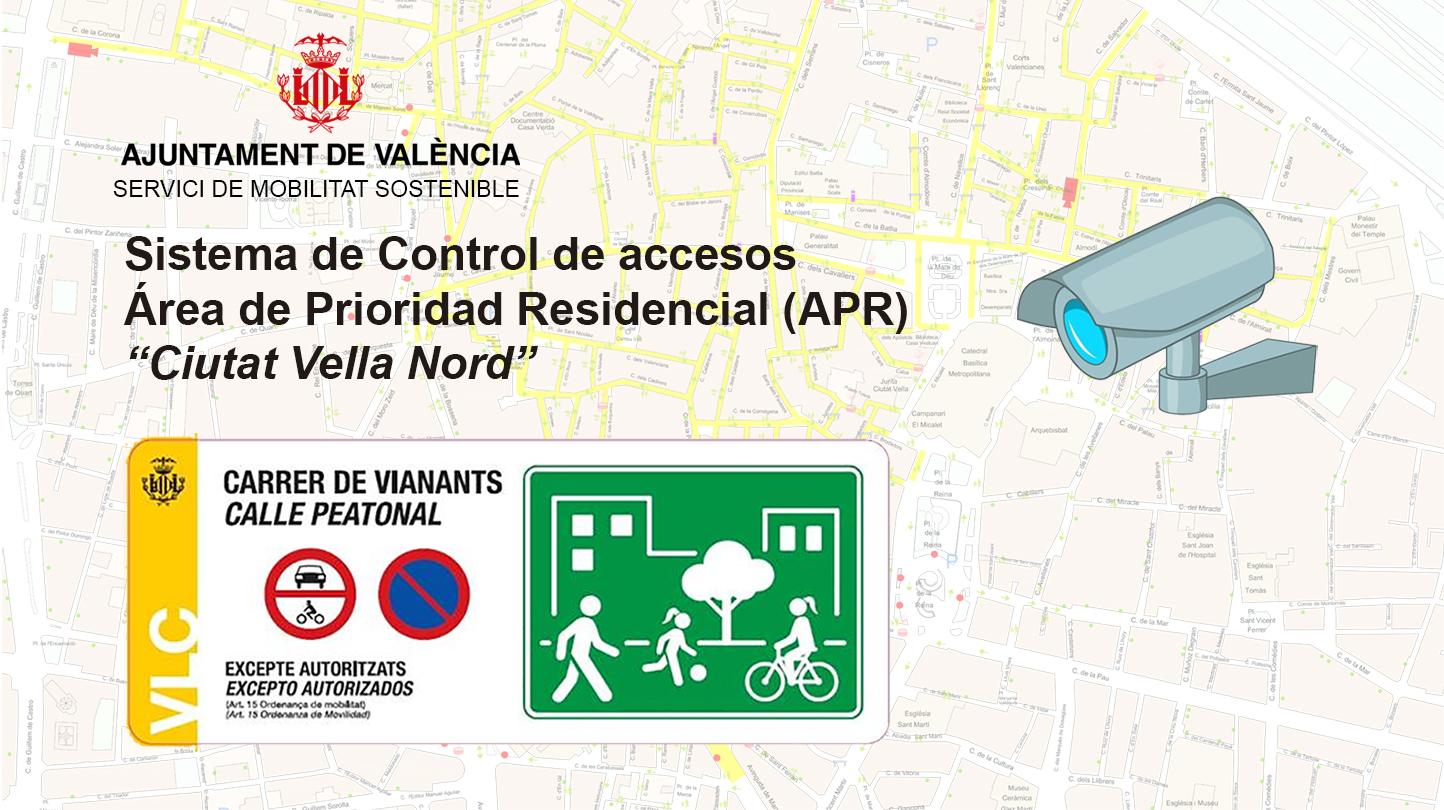 Fase informativa del Pla de control d'accessos a la circulació de vehicles.