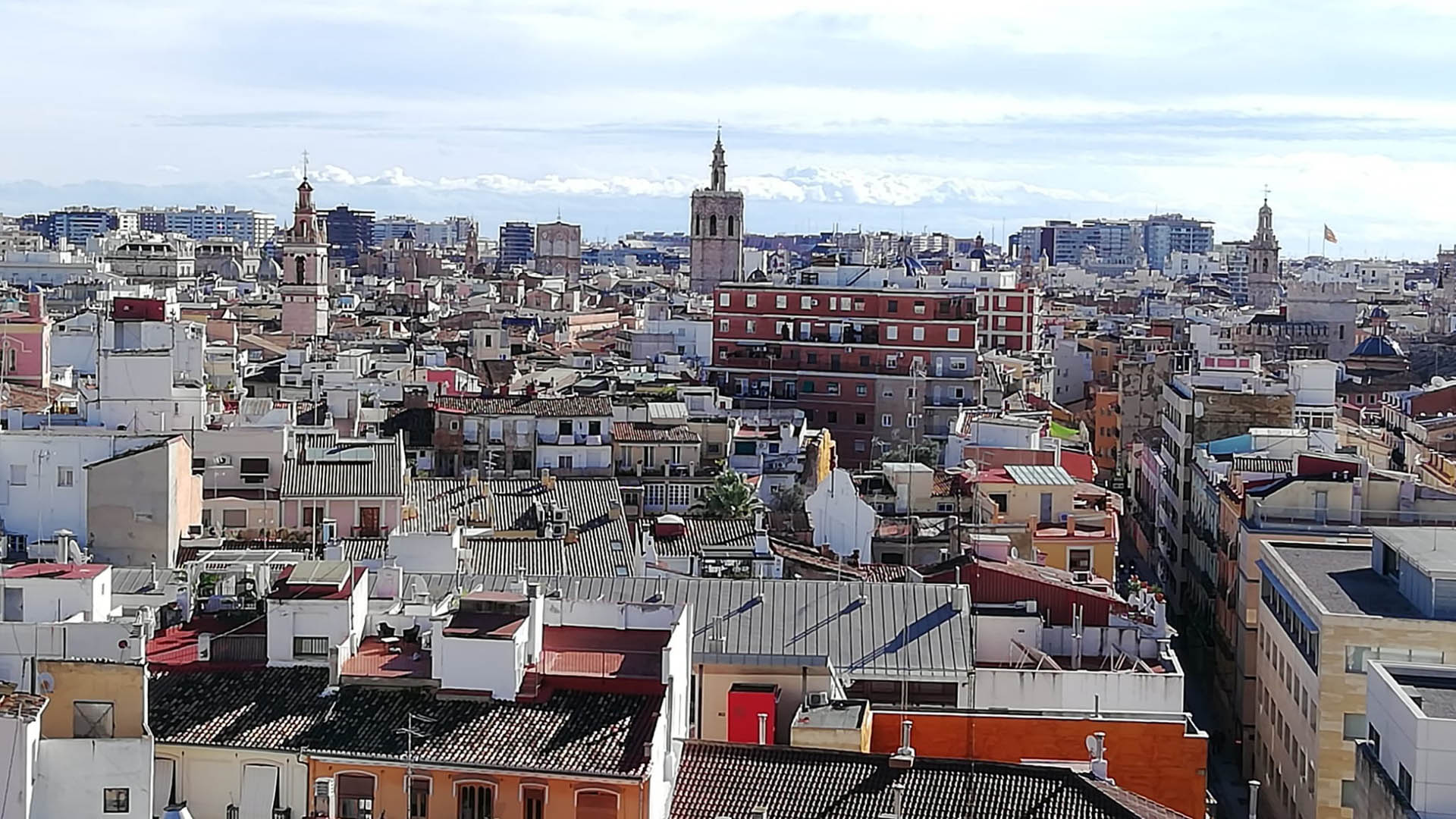 Vista aèria de València