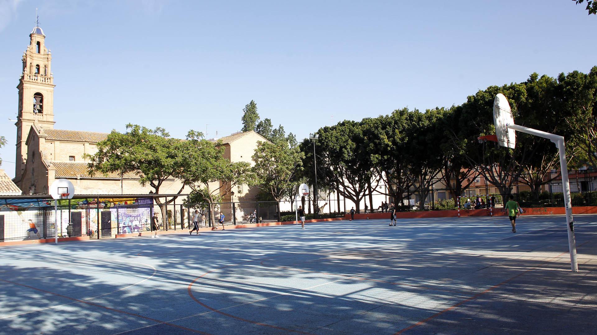 Una de las instalaciones deportivas municipales