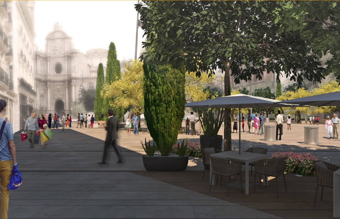 Subvención IDAE plaza Reina