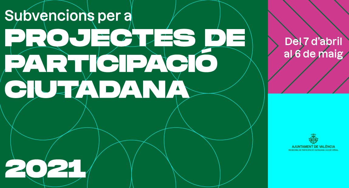 Cartell de la convocatòria d'ajudes per promoure l'associacionisme