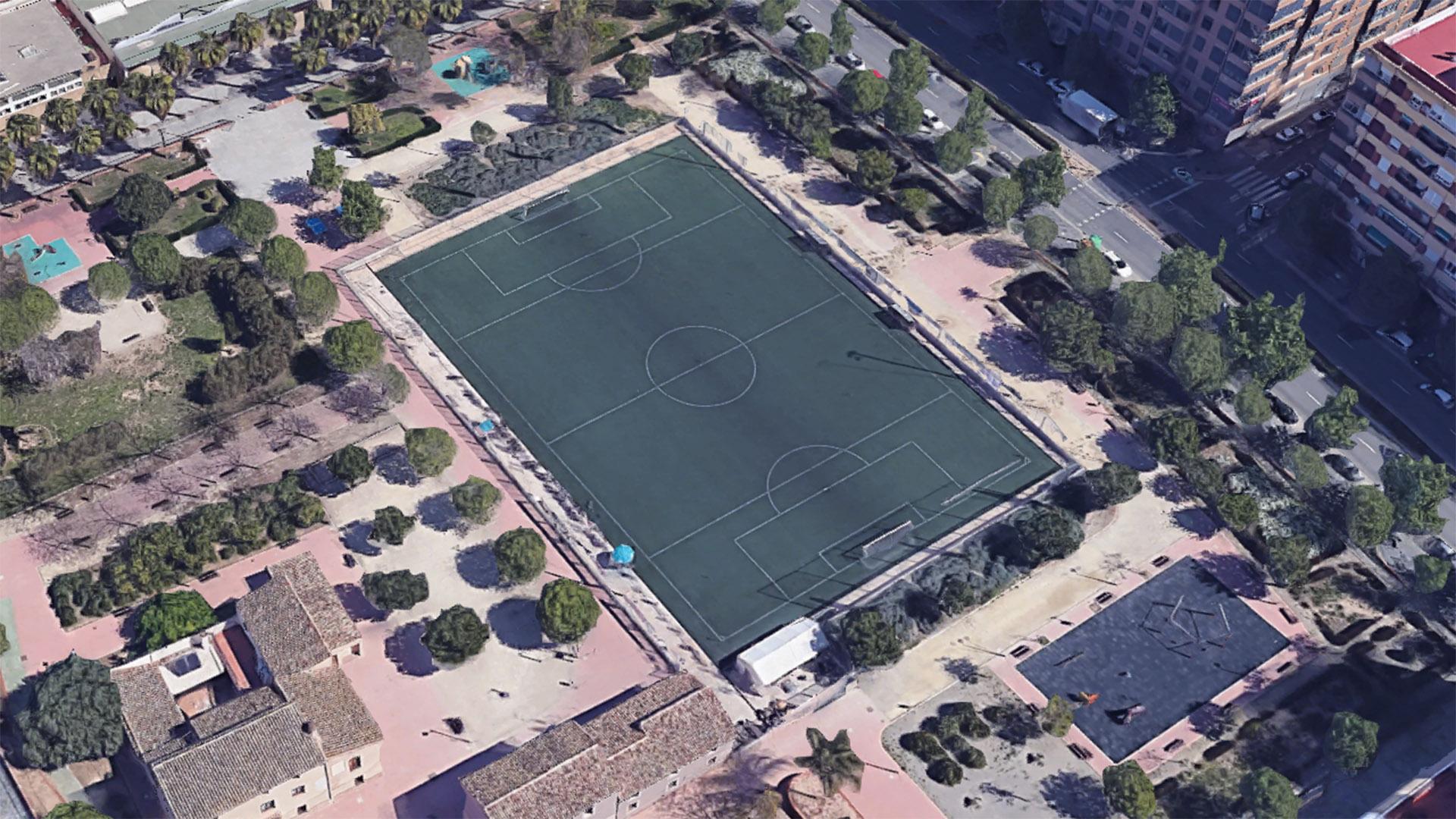 El camp de futbol de Torrefiel