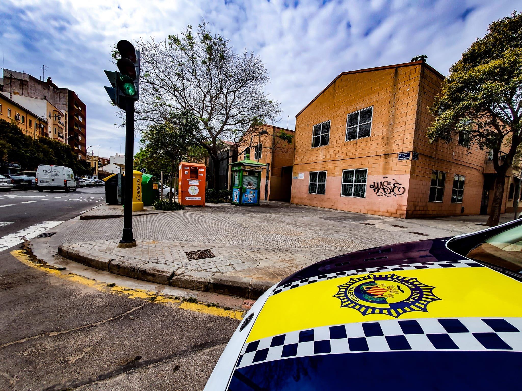 Policía Local Operación Frío