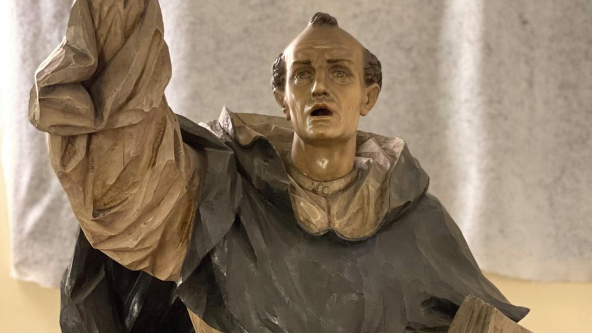 La restauració coincideix amb el sisé centenari de la mort del sant