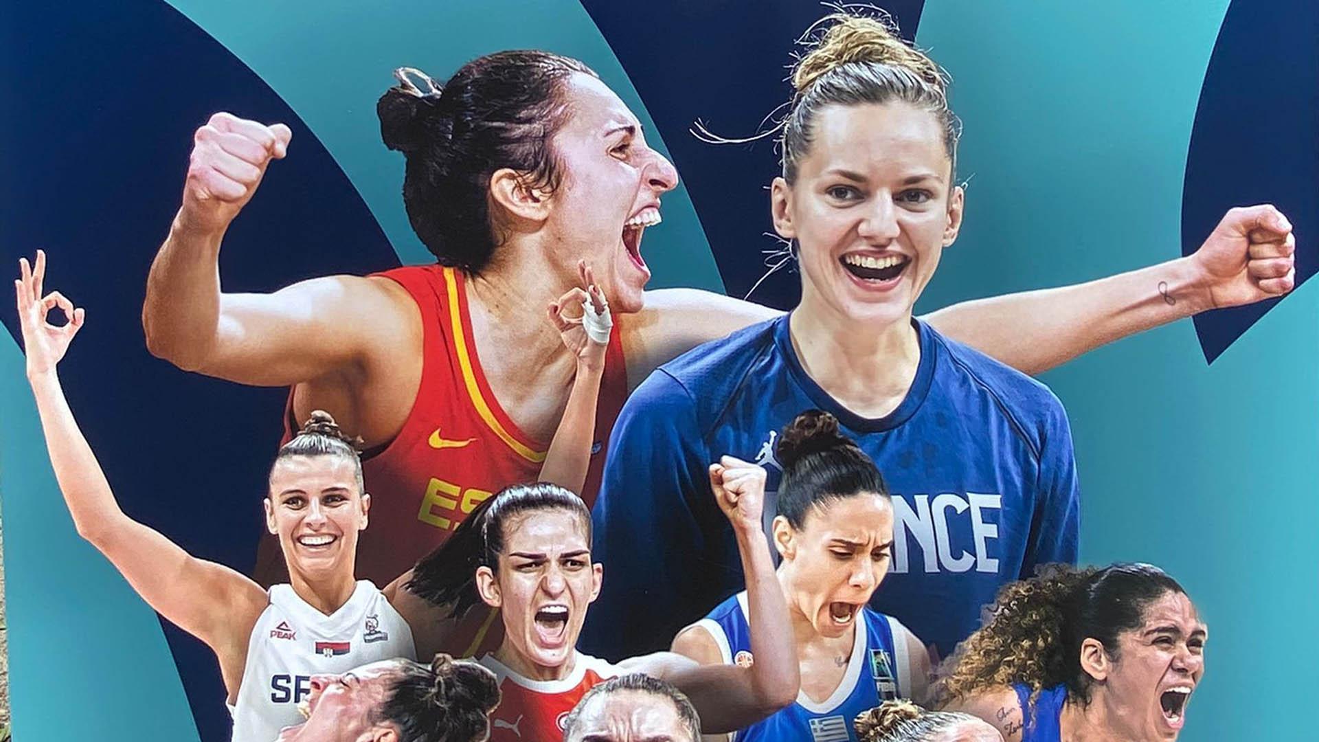Cartell de l'Eurobasket Women 2021