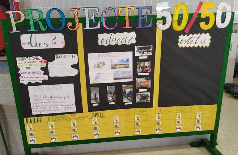 Proyecto 50/50 ahorro energético en escuelas