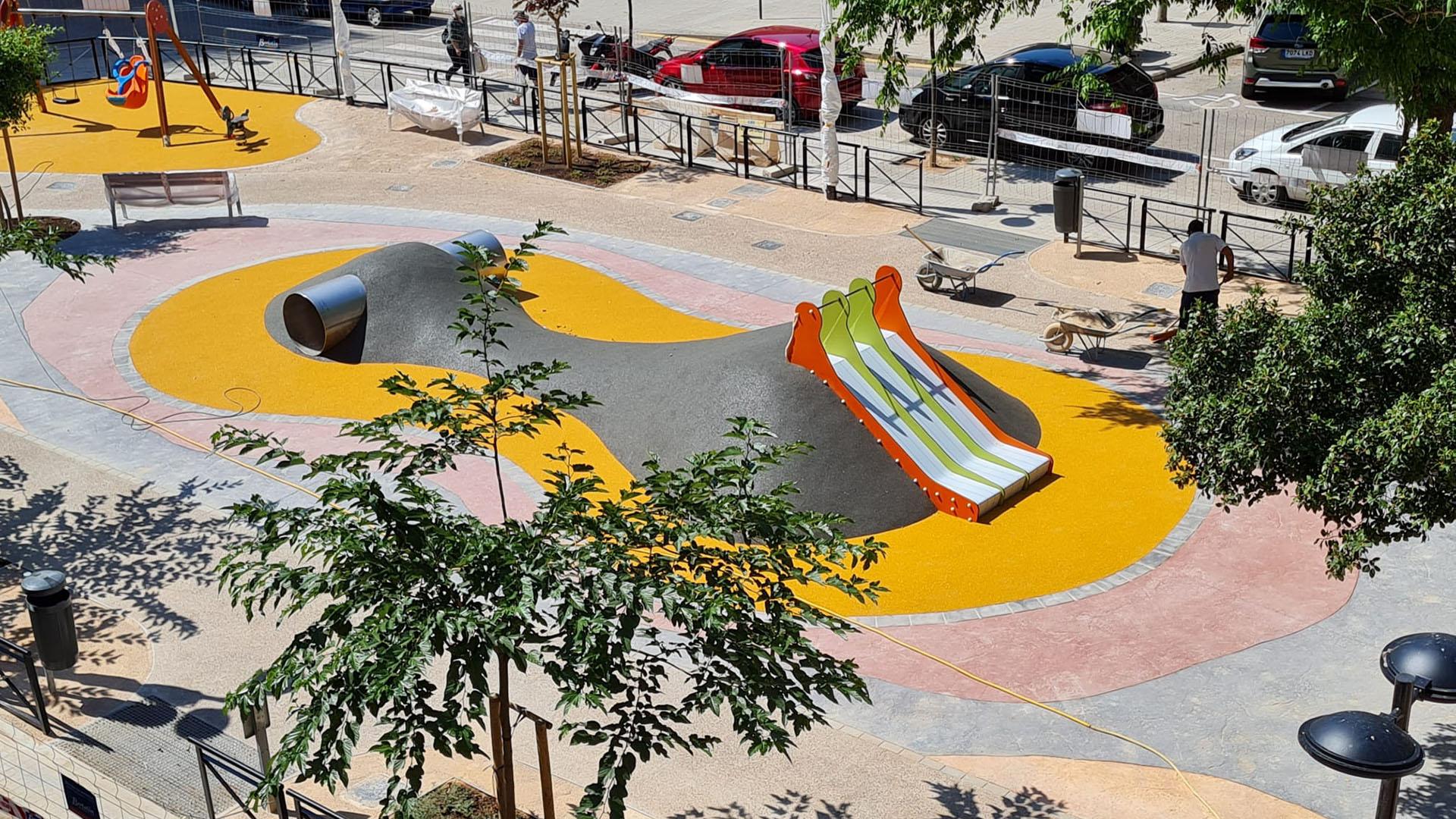 Renovación parque Manuel Simó