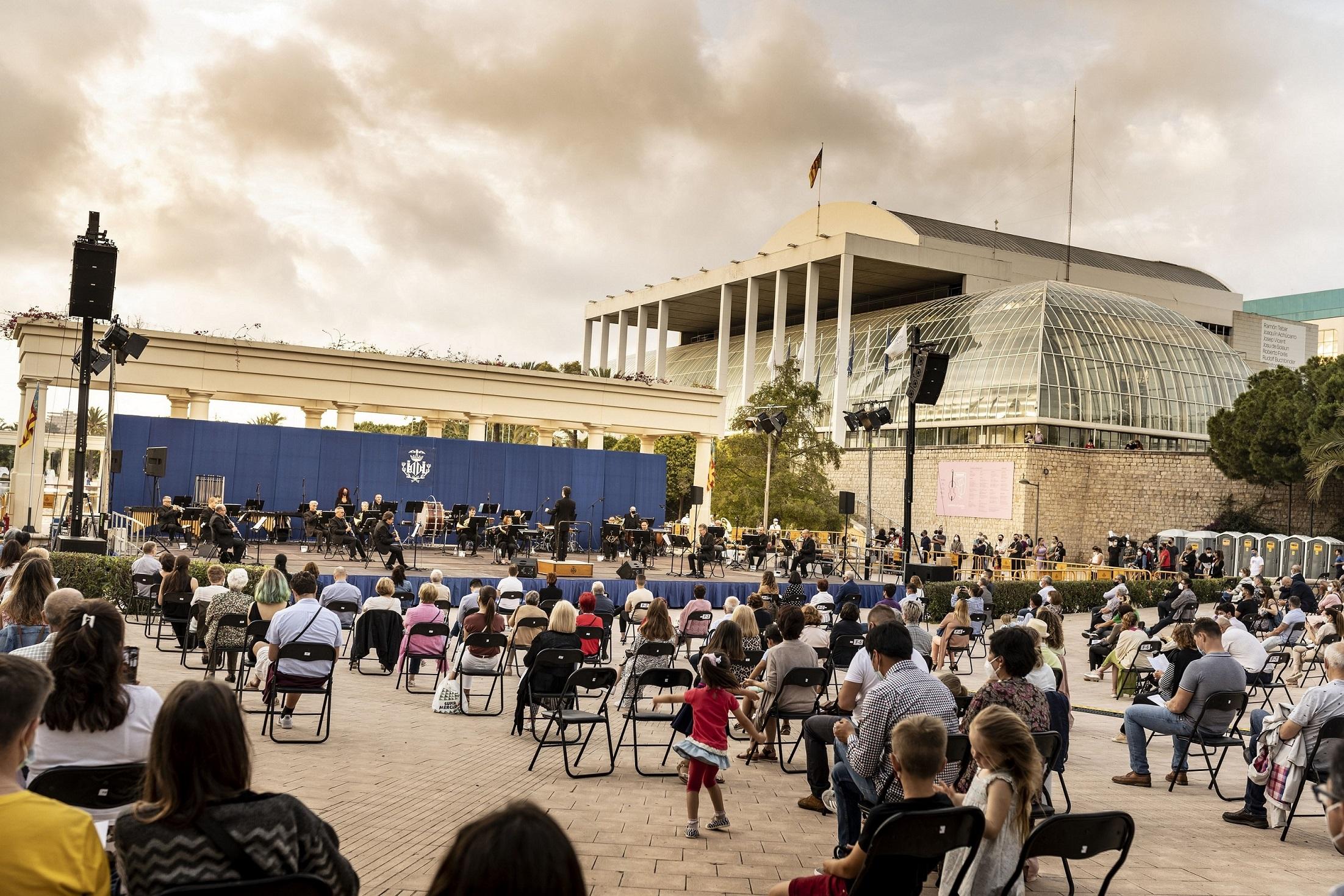Concierto BSMV en los Jardines del Palau