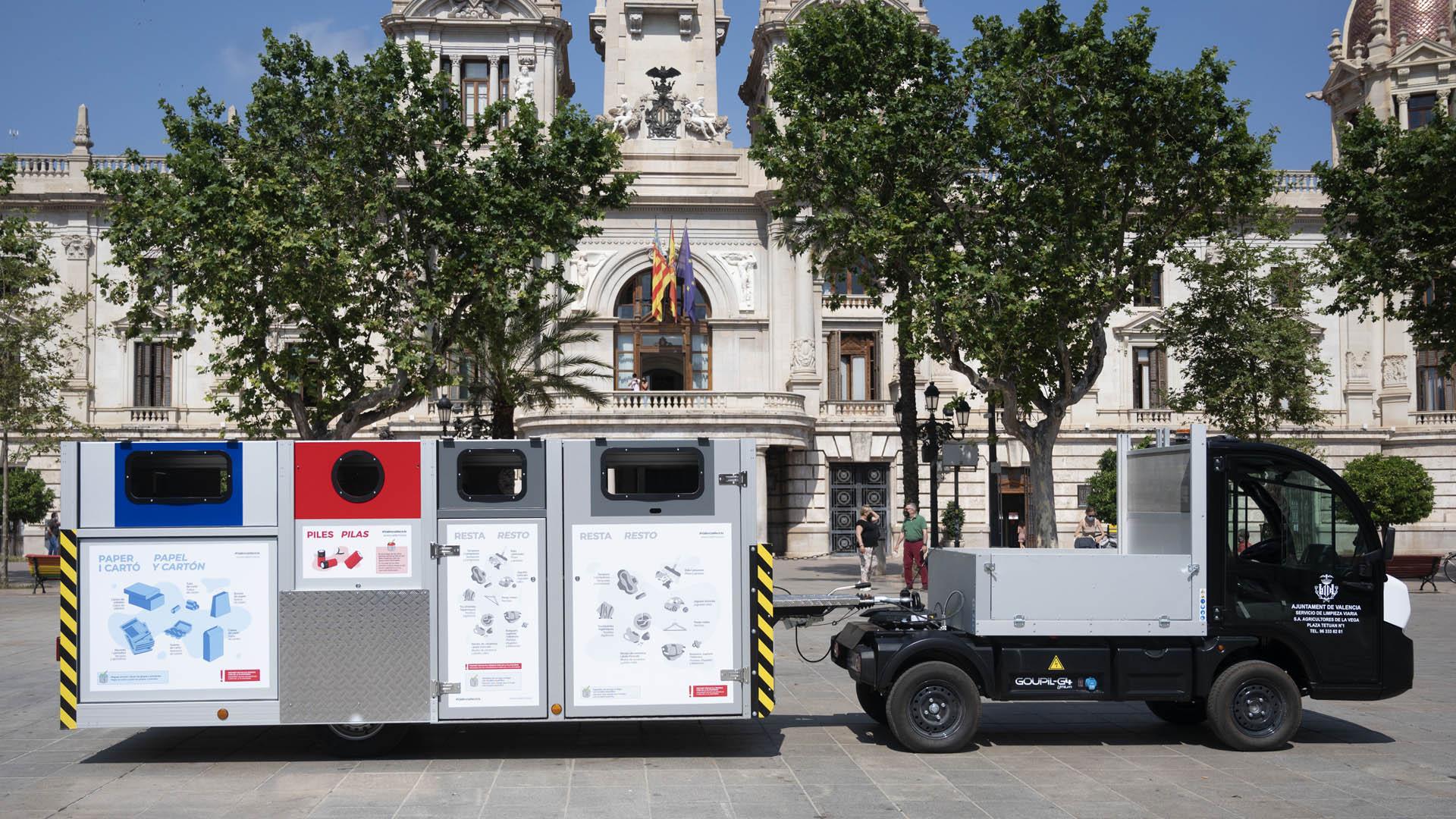 Recogida residuos plataforma móvil Ciutat Vella Nord