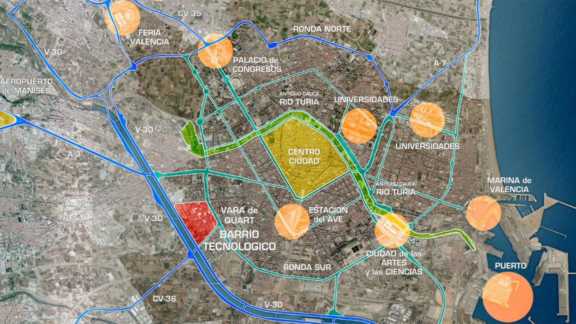 Presentación distrito innovador Vara de Quart