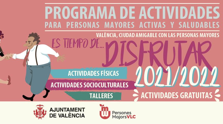 Programa de Actividades para personas mayores